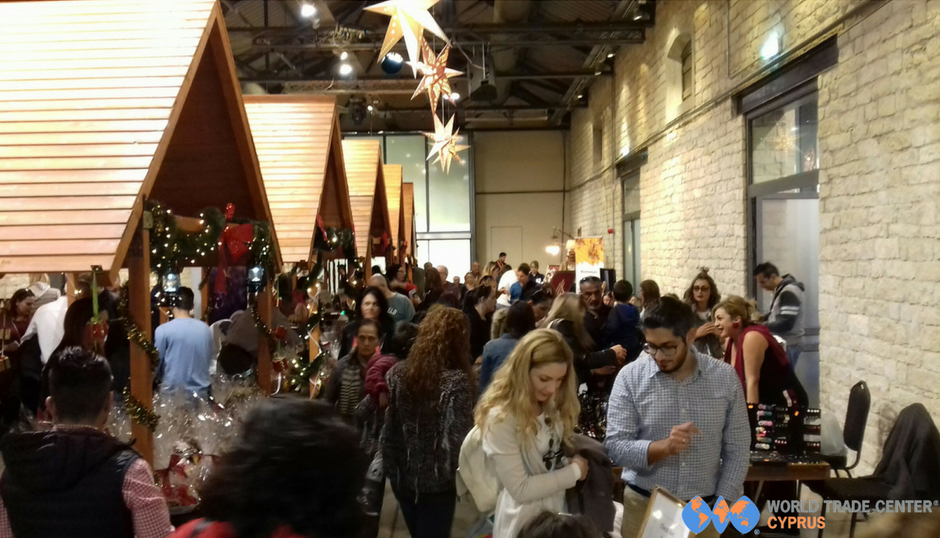 "World Trade Center Cyprus and Local Businesses rejoice at the success of ""All You Need for Christmas"" exhibition"